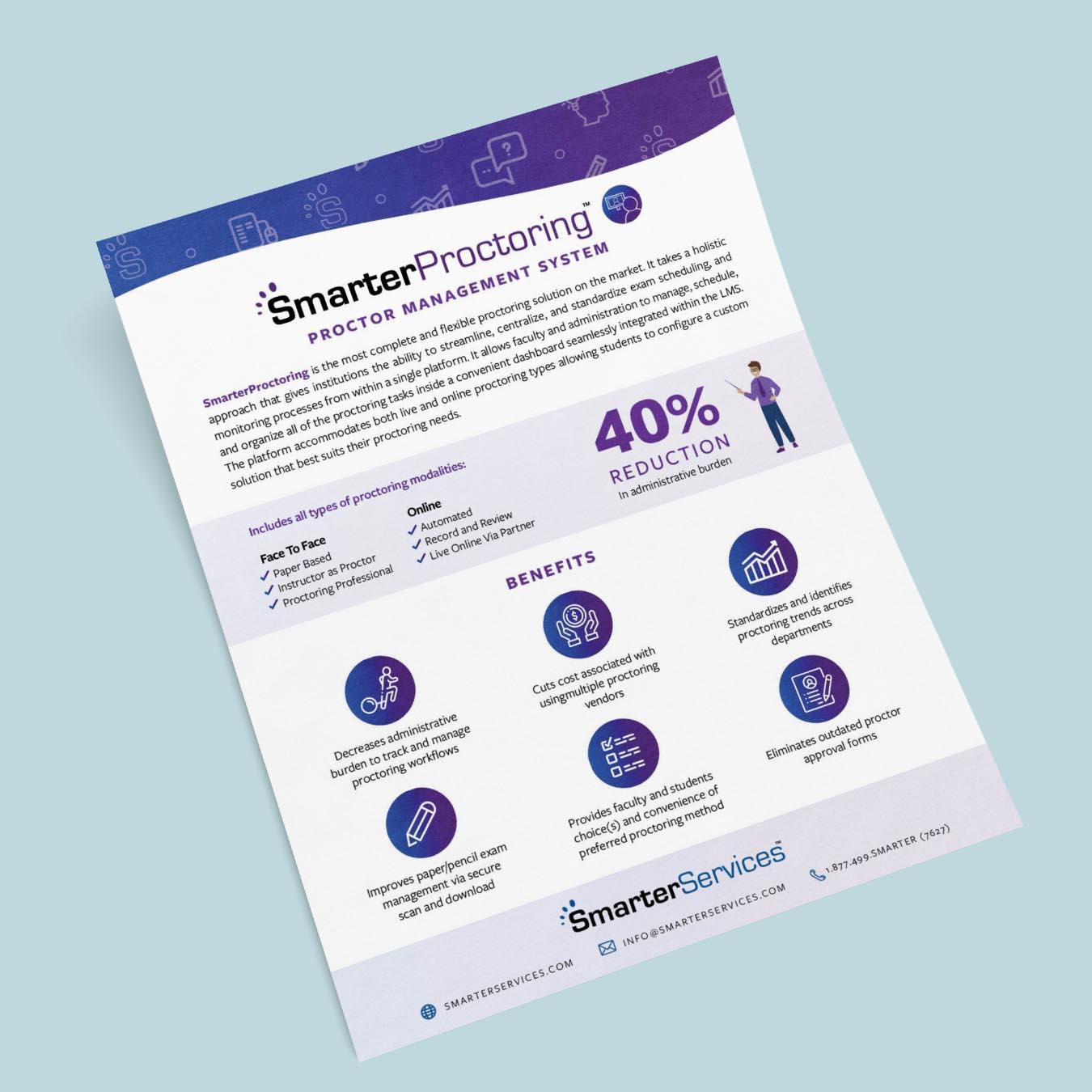 SmarterProctoring Flyer Icon